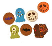 Preppy Puppy Deluxe Fall/Winter Dog Cookies, each