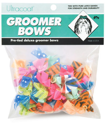 Deluxe Groomers Bows, 50 pack
