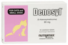 Denosyl Tablets, (30 ct for small cats & dogs)