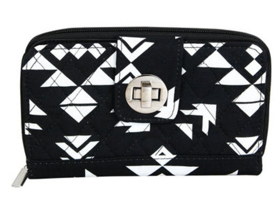 """Desert Night"" Quilted Clutch Wallet"