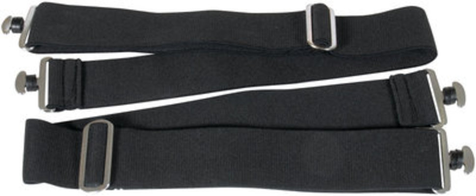 Detachable Elastic Surcingle Straps (pair)