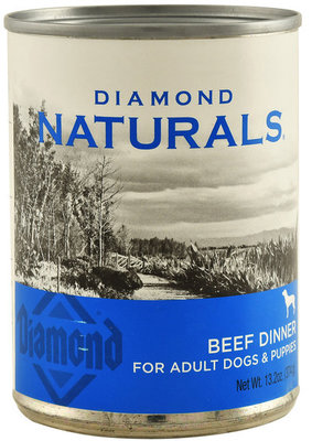 Diamond Naturals Canned Beef Dinner