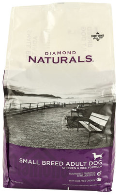 Diamond Naturals Chicken & Rice Small Breed Formula Dog Food