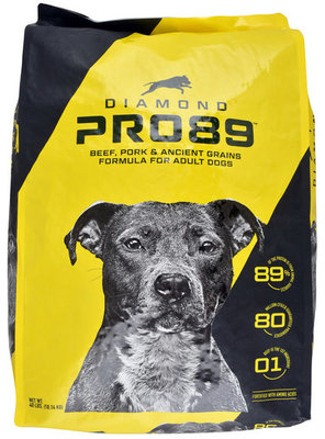 Diamond Pro89 Beef, Pork & Ancient Grains Formula, 40 lb