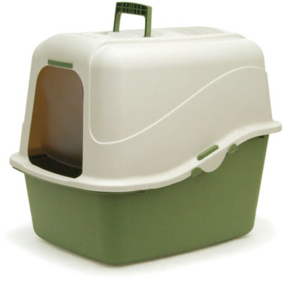 Jumbo Deluxe Hooded Litter Pan & Accessories