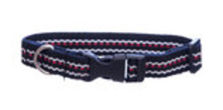 "Adjustable Nylon Dog Collar, (20-26"") Assorted"