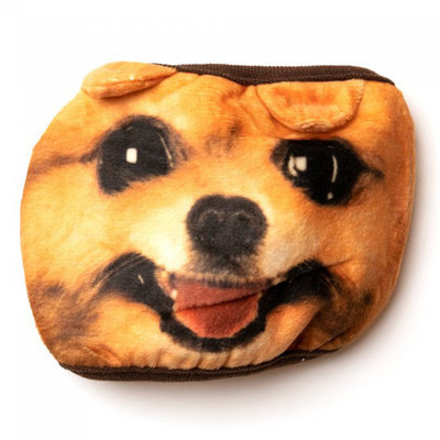 Dog Face Cloth Face Mask (PPE), Adult