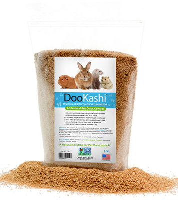 DooKashi Small Animal Bedding Additive & Odor Eliminator