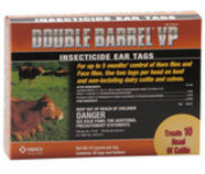 Double Barrel VP Ear Tags, pkg of 20