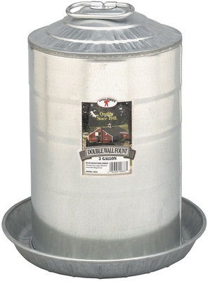 Double Wall Fountain, 3 gallon