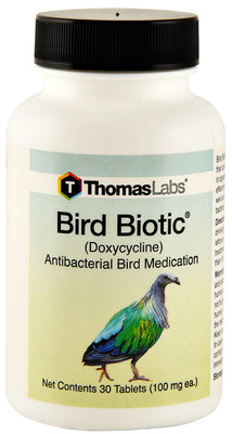 Bird Biotic (Doxycycline) 100mg Tablets, 30ct