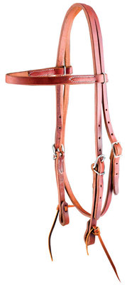 Dr. J Amish Browband Headstall