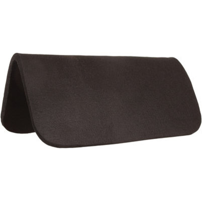 Dr. J Black Felt Saddle Pad