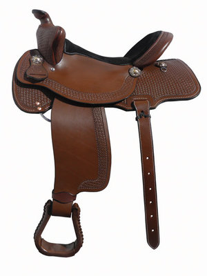Dr. J Mounted Shooter Saddle