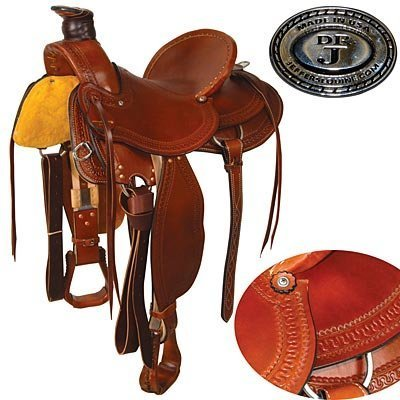 Dr. J Wade Roping Saddle