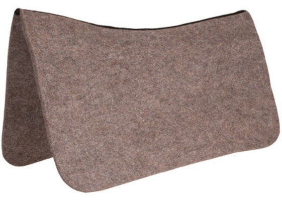 Dr. J® Wool Contoured Saddle Pad