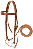 Leather Draft Horse Bridle