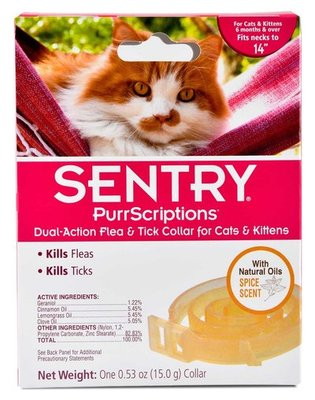 PurrScriptions Dual Action Flea & Tick Collar for Cats