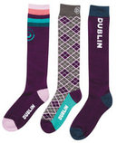 Dublin 3-pair Pack Adult Socks
