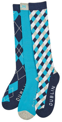 Dublin Diamond 3-Pack Socks