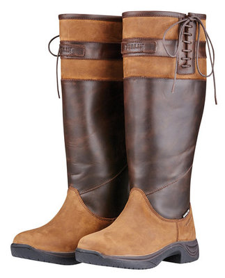 Dublin Manuesha Boots, Dark Brown