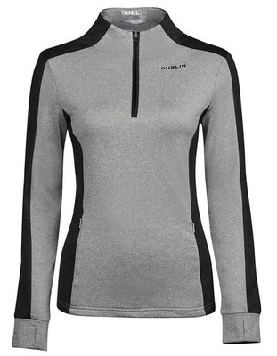 Dublin Rachel Half Zip Thermal Top