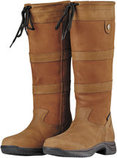 Tan Dublin River Boot III, Wide Calf