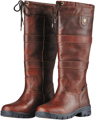 Dublin River Grain Boots, Red Brown