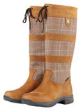 Dublin River Plaid Lifestyle Boots, Brown