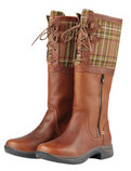 Dublin Thames Ladies Boots, Red Brown