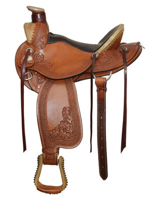 Dr. J Pro Series Wade Roper Saddle (Dusty Deals)