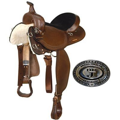 Dr. J® Show Brown Trail Flex Saddle
