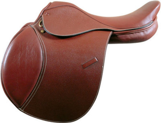 Kincade Brown Close Contact Saddle, 16½ in Seat