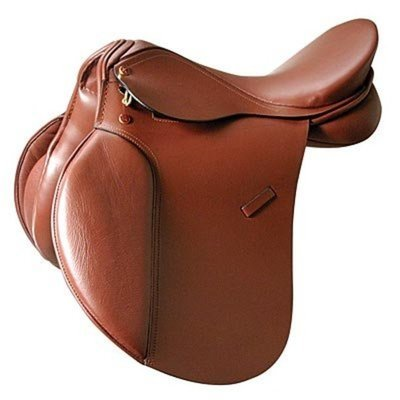 "Kincade Leather Brown A/P Saddle 16.5"" Seat"