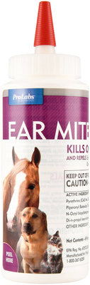 Ear Mite Killer with Aloe, 6 oz