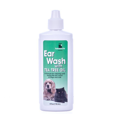 Ear Wash with Tea Tree Oil, 4 oz