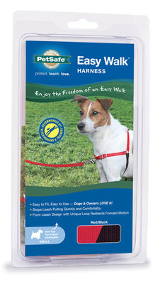 "Red, 15""-20"" Easy Walk Harness"