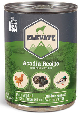 Elevate Acadia Recipe Canned Dog Food