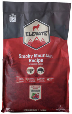 Elevate Smoky Mountain Recipe Dry Dog Food