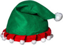 Elf Hat Helmet Cover