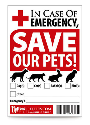 Pet Rescue Sticker