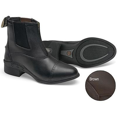 Enduro-Tech Zip Leather Paddock Boots - Ladies'