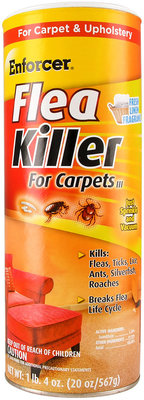 Enforcer Flea Killer Carpet Powder, 20 oz (Island Rain)