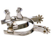 Jeffers Engraved Youth Spurs, pair