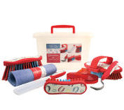 Equestria Sport Horseshoes 8-pc Grooming Kit