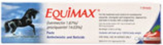 EquiMax Horse Wormer Paste, 1-dose