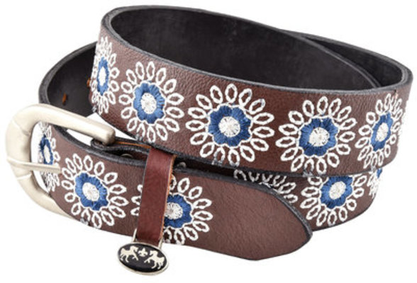 Equine Couture Sophia Leather Belt