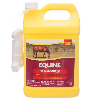 MannaPro Equine Fly And Mosquito Spray, gallon RTU (0.25%)