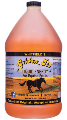 Equine Golden Flo Liquid Energy, gallon