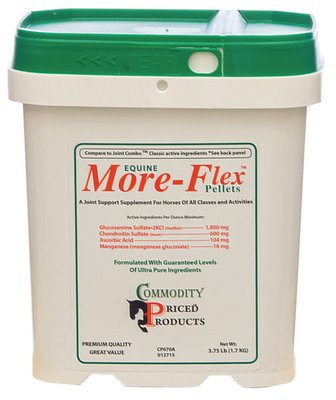 3.75 lb, Equine More-Flex Pellets